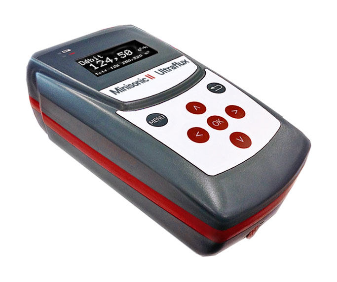 New portable Flowmeter Minisonic II